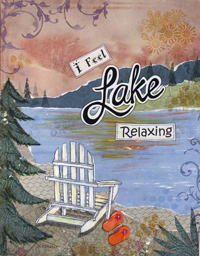 Lake Relaxing Poster by Let Your Art Soar for $56.25 CAD