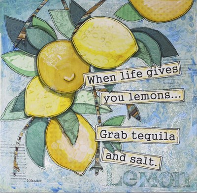 Lemony Life Poster by Let Your Art Soar for $63.75 CAD