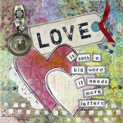 Loving Hearts Poster by Let Your Art Soar for $63.75 CAD
