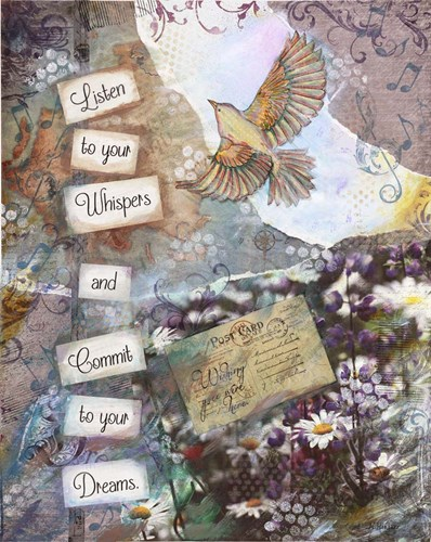 Whispering Dreams Poster by Let Your Art Soar for $56.25 CAD