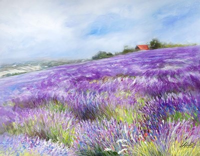 Lavender I Poster by Li Bo for $68.75 CAD