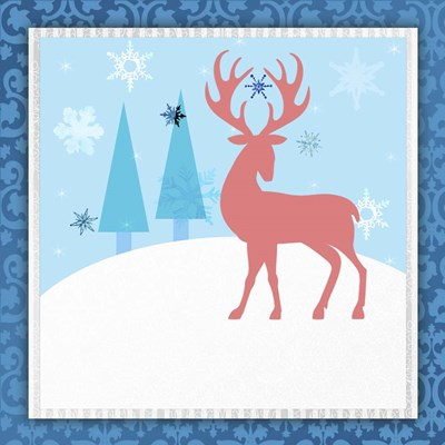 Christmas Deer 2 Poster by LightBoxJournal for $48.75 CAD