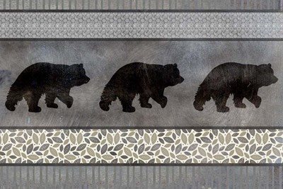 Bear Pattern Poster by LightBoxJournal for $43.75 CAD