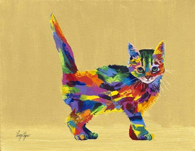 Kitty Poster by Linzi Lynn for $42.50 CAD