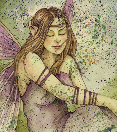 Fae 2 Poster by Linda Ravenscroft for $37.50 CAD