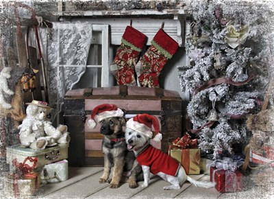 Awaiting Santa Poster by Liz Zernich for $28.75 CAD