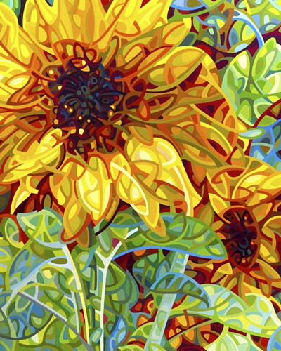 Summer In The Garden Poster by Mandy Budan for $101.25 CAD