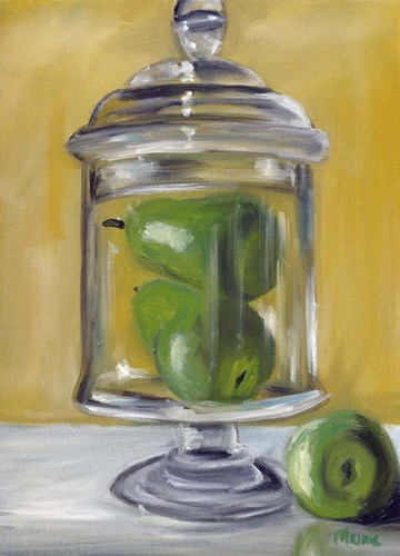 Jar Of Pears Poster by Marnie Bourque for $42.50 CAD