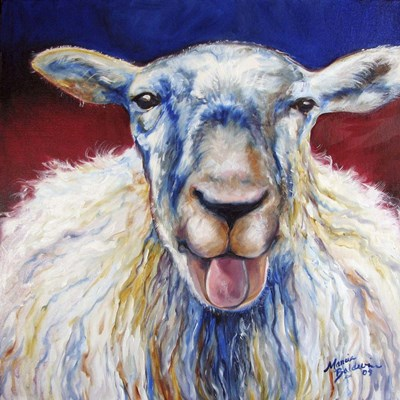 Oh Baa Ma Poster by Marcia Baldwin for $48.75 CAD