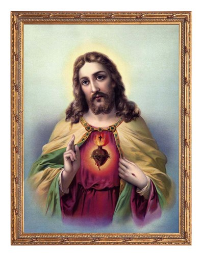 Sacred Heart 3 Poster by Marcus Jules for $25.00 CAD