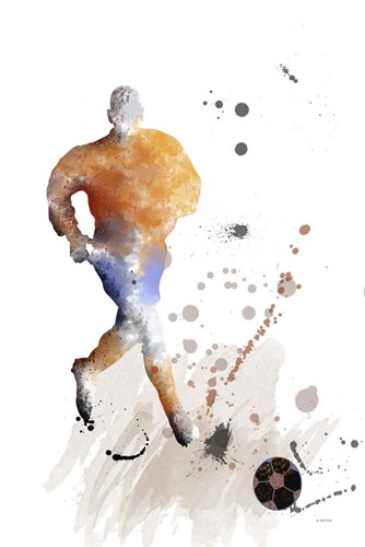 Soccer Player 7 Poster by Marlene Watson for $43.75 CAD