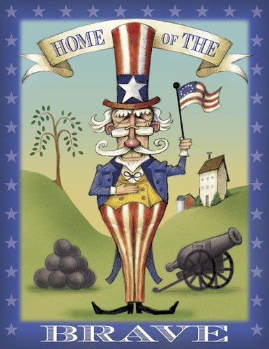 Uncle Sam Poster by Margaret Wilson for $40.00 CAD