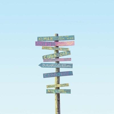 Distances Poster by Matt Crump for $56.25 CAD