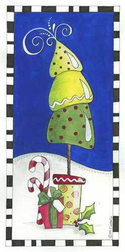 Holiday Trio 1 Poster by Maureen Lisa Costello for $32.50 CAD