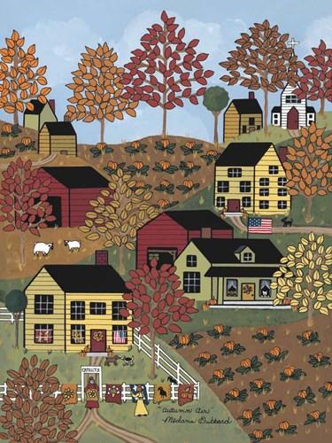 Autumn Air Poster by Medana Gabbard for $41.25 CAD