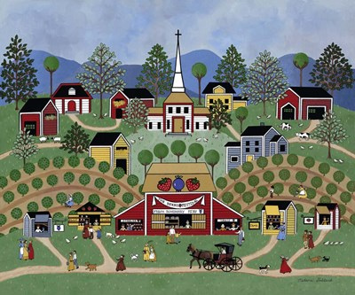 The Berry Festival Poster by Medana Gabbard for $43.75 CAD