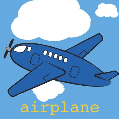 Airplane Poster by Melanie Parker for $63.75 CAD