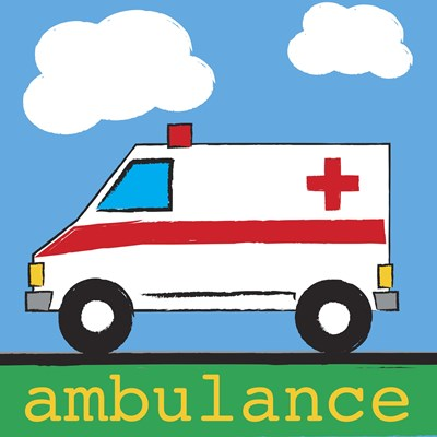 Ambulance Poster by Melanie Parker for $63.75 CAD