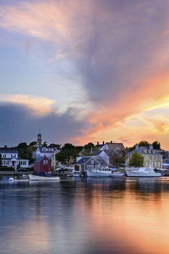 Sunset on the Piscataqua - Vertical Poster by Michael Blanchette Photography for $43.75 CAD