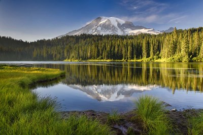 Reflection Lake Vista Poster by Michael Blanchette Photography for $43.75 CAD