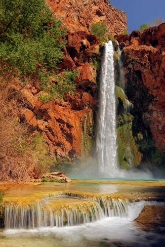 Mooney  Falls Poster by Mike Jones Photo for $43.75 CAD