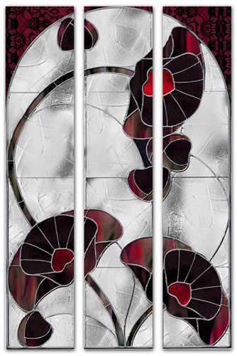 Art Nouveau Poppies Poster by Mindy Sommers for $53.75 CAD