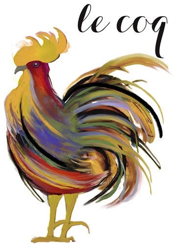 Art Nouveau Rooster I Poster by Mindy Sommers for $78.75 CAD