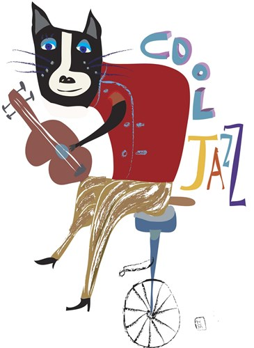 Cool Jazz Poster by Nathaniel Mather for $96.25 CAD