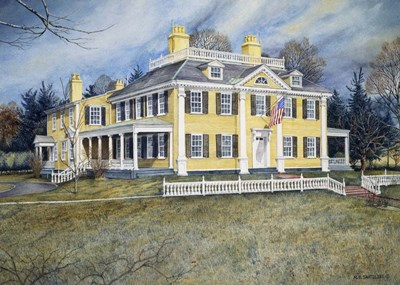 Longfellow's House Poster by Nicholas Santoleri for $46.25 CAD