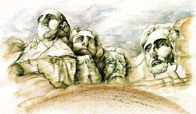 Mount Rushmore Poster by Peter Potter for $57.50 CAD