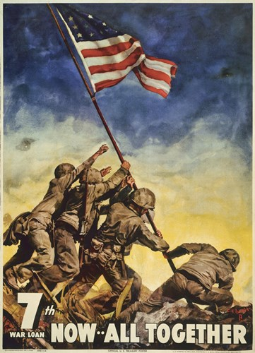 Marines All Together Poster by Print Collection for $97.50 CAD