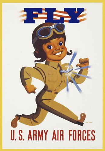 Fly - U.S. Army Air Forces Poster by Print Collection for $100.00 CAD