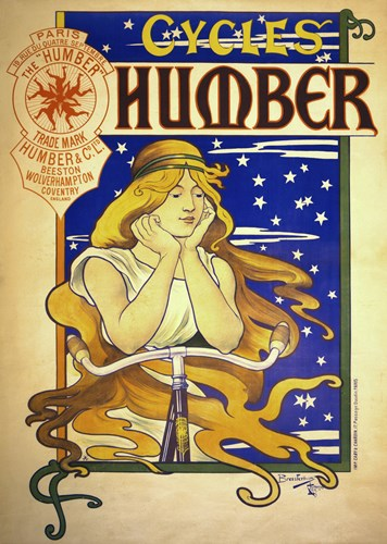 Humber Cycles Poster by Print Collection for $120.00 CAD