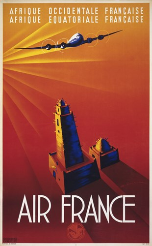 Air France to Africa Poster by Print Collection for $106.25 CAD