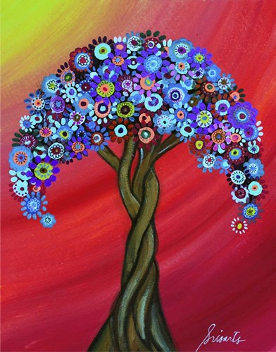 Honor's Resting Tree Poster by Prisarts for $40.00 CAD