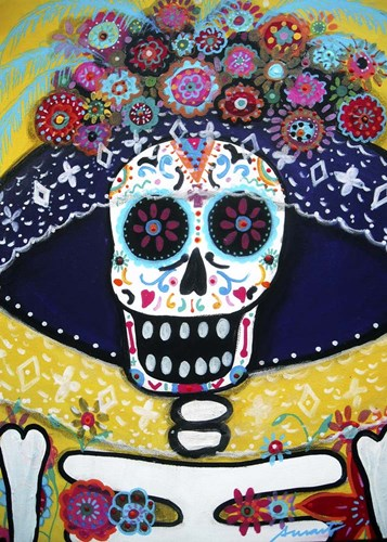 Senorita Catrina Poster by Prisarts for $42.50 CAD