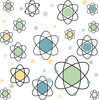 Atomic Symbol Poster by RetroPlanet for $48.75 CAD