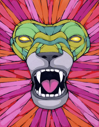 Aggressive By Nature Poster by Ric Stultz for $92.50 CAD
