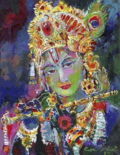 Krishna Poster by Richard Wallich for $57.50 CAD