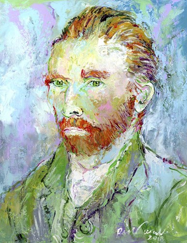 Van Gogh Poster by Richard Wallich for $57.50 CAD