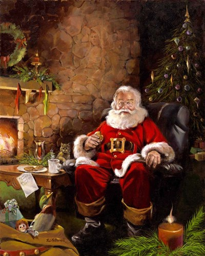 Santas Treats Poster by R.J. McDonald for $40.00 CAD