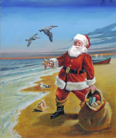 Santa 2 Poster by R.J. McDonald for $38.75 CAD