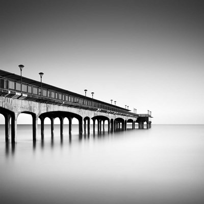 Boscombe Pier II Poster by Rob Cherry for $35.00 CAD