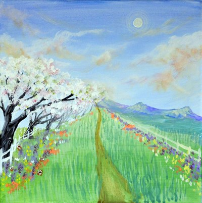 Spring Road Poster by Sarah Tiffany King for $35.00 CAD
