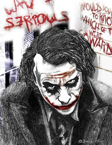 Joker Poster by Shacream Artist for $32.50 CAD