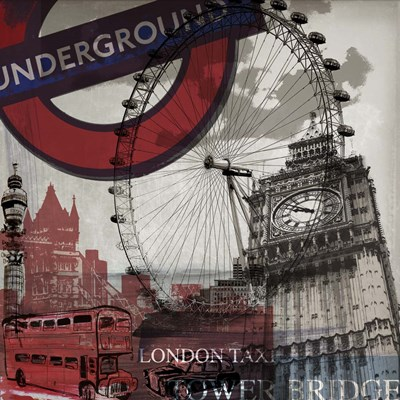 London Calling Poster by Sidney Paul and Co. for $35.00 CAD