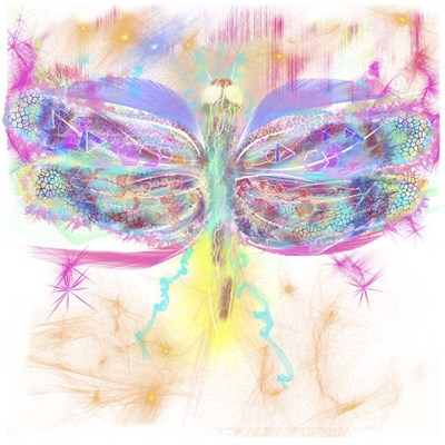 Dragonfly Poster by Stephanie Analah for $48.75 CAD