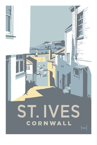 St Ives 3 Poster by Steve Read for $43.75 CAD