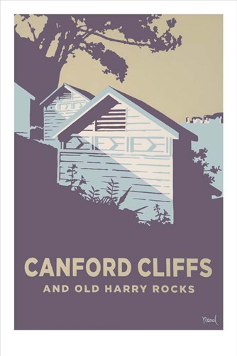 Canford Cliffs And Old Harry Rocks Poster by Steve Read for $43.75 CAD