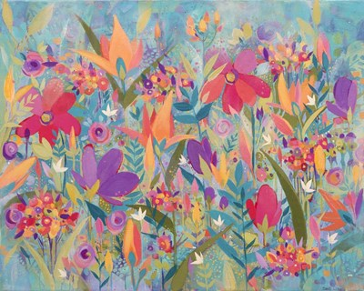 Wild Flowers Poster by Sue Davis for $42.50 CAD